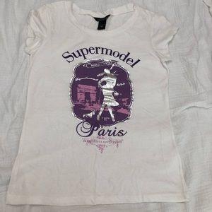 White Supermodel T-shirt